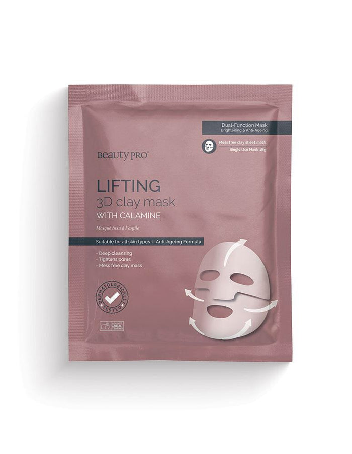 Beauty Pro - LIFTING 3D Clay Mask with Calamine