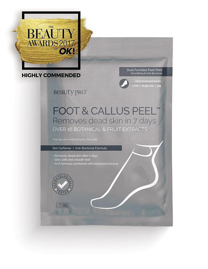 Beauty Pro - FOOT & CALLUS PEEL with over 16 Botanical & Fruit extracts
