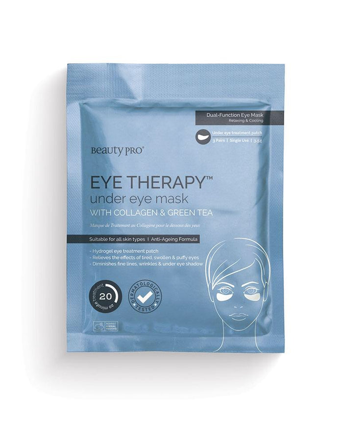 Beauty Pro - EYE THERAPY Under Eye Mask with Collagen and Green Tea extract