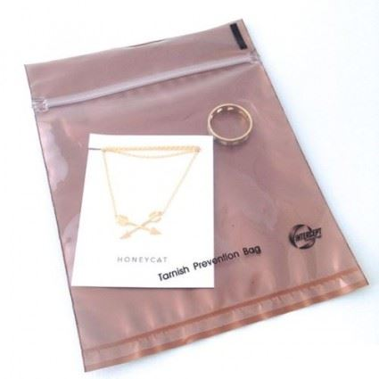 "Anti Tarnish Bags: 4""x4"" Jewelry Care HONEYCAT Jewelry"