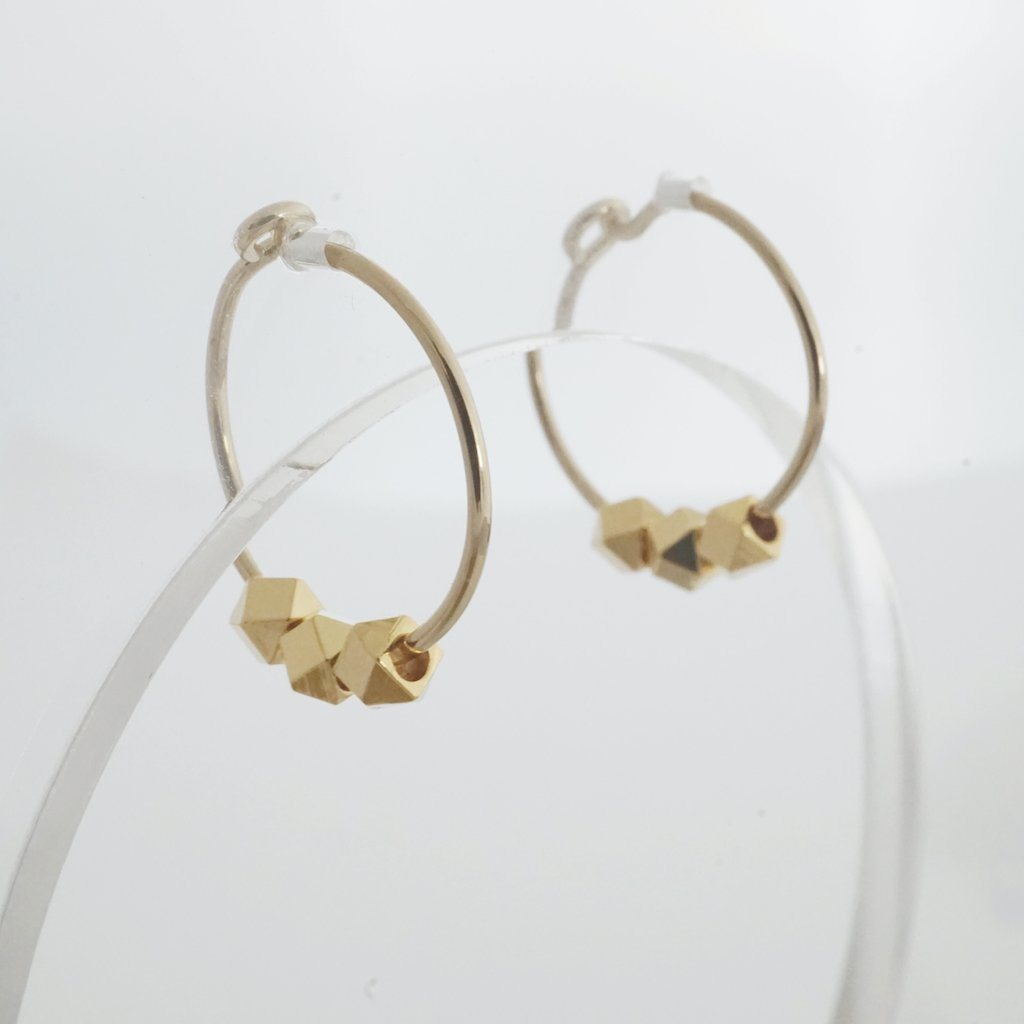 Comet Hoops Earrings HONEYCAT Jewelry