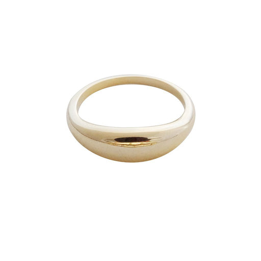 Dome Ring Rings HONEYCAT Jewelry Gold 5