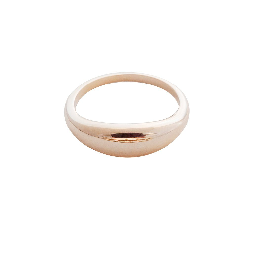 Dome Ring Rings HONEYCAT Jewelry Rose Gold 5