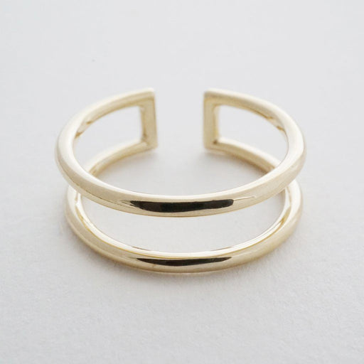 Double Stack Ring Rings HONEYCAT Jewelry