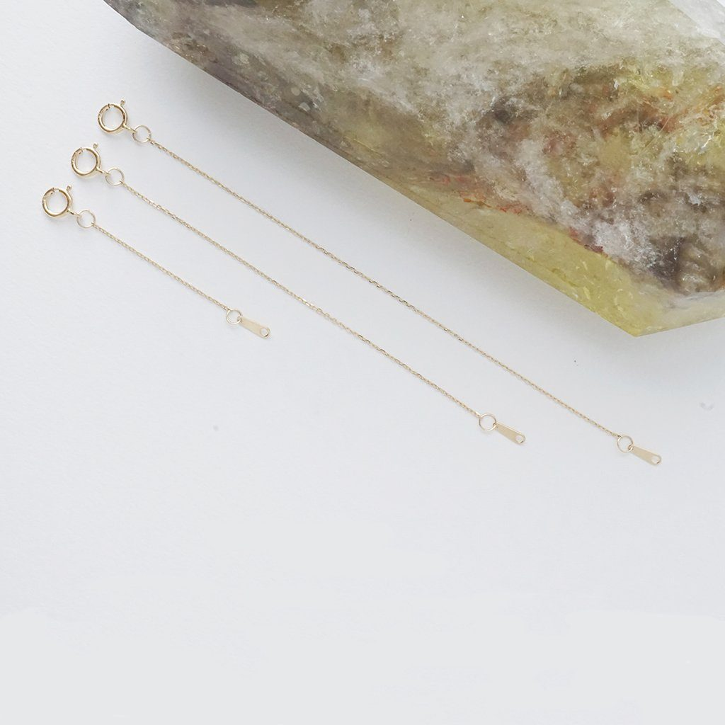 Necklace Extender, 14k Gold