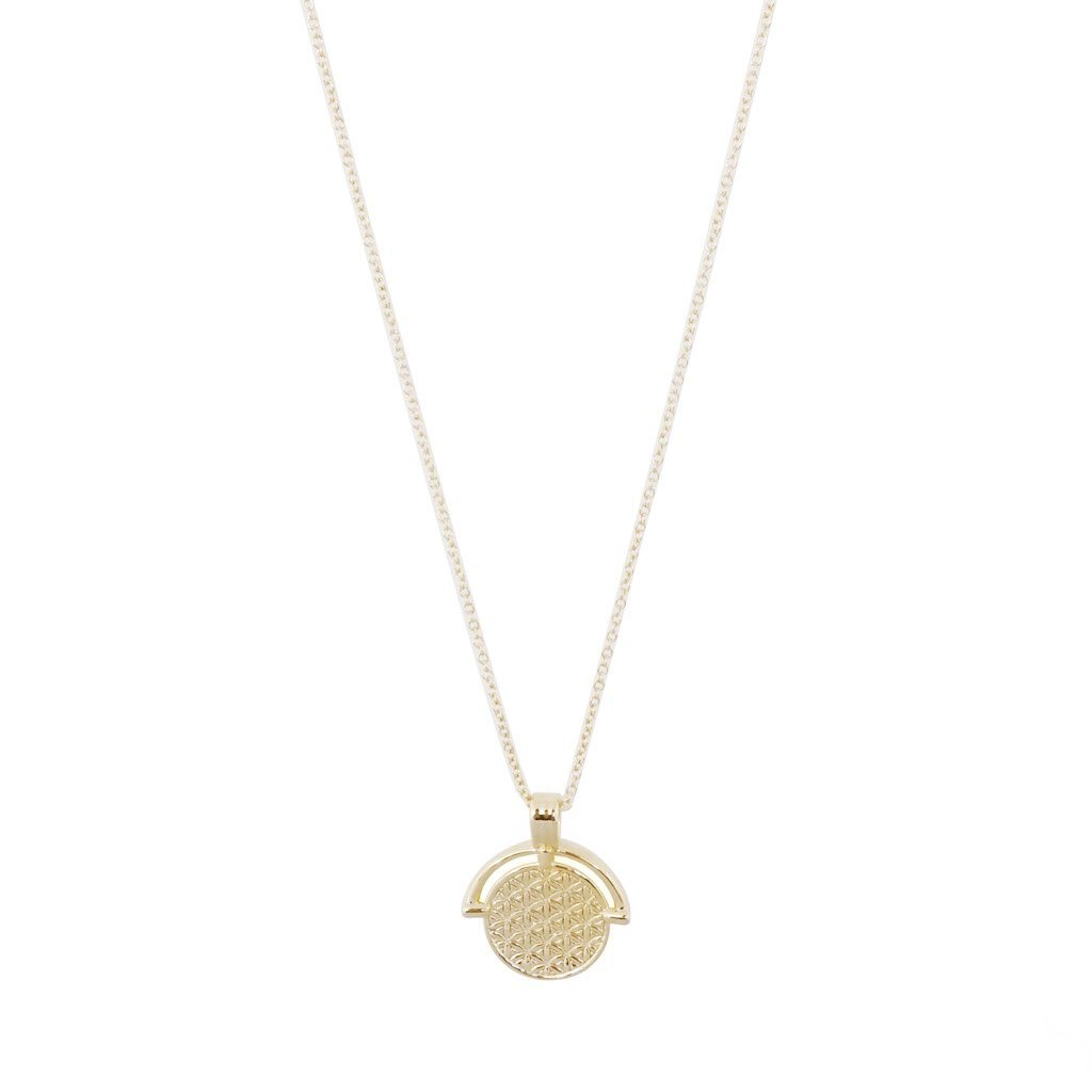 Flower of Life Pendant Necklace Necklaces HONEYCAT Jewelry