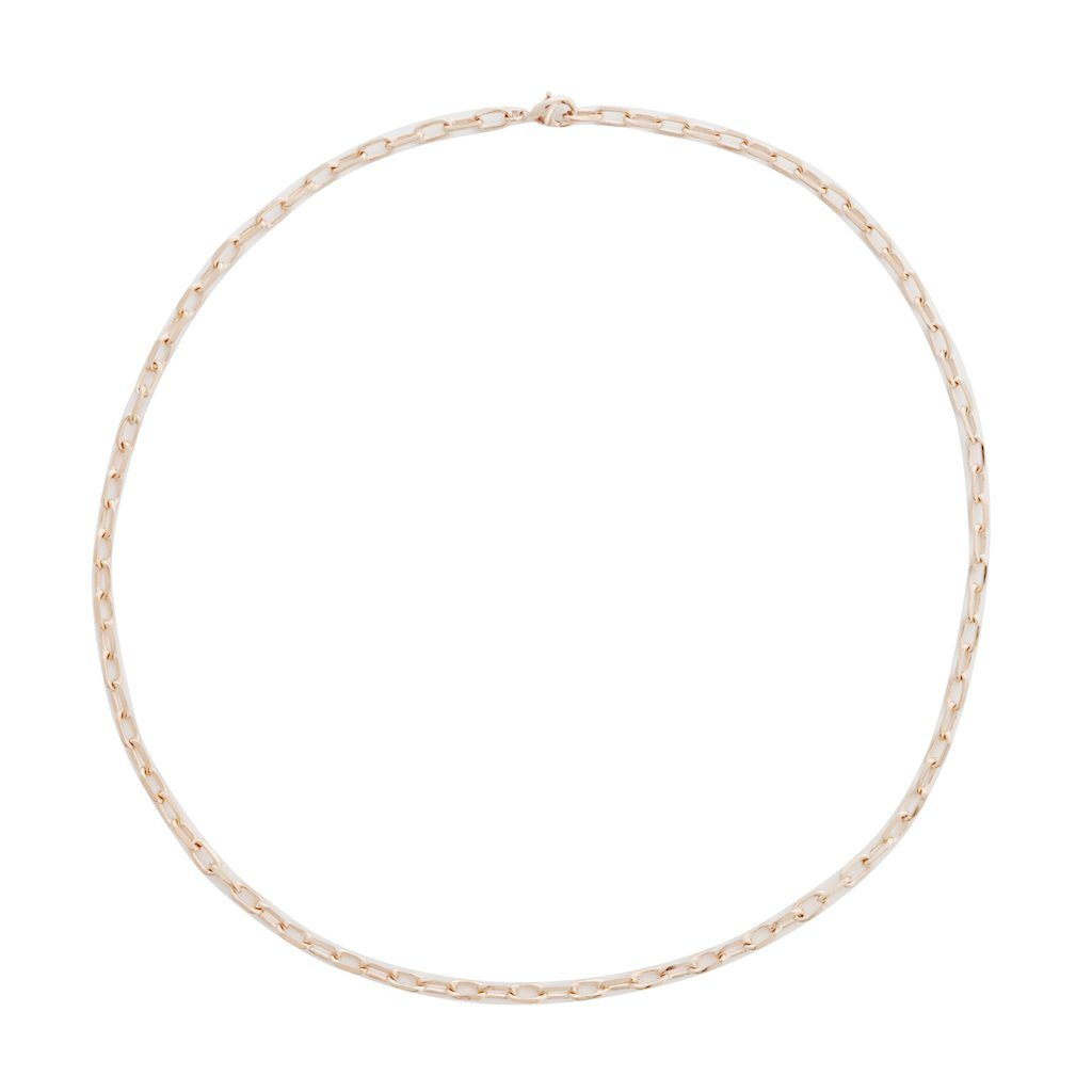 Greta Chain Necklace Necklaces HONEYCAT Jewelry Rose Gold