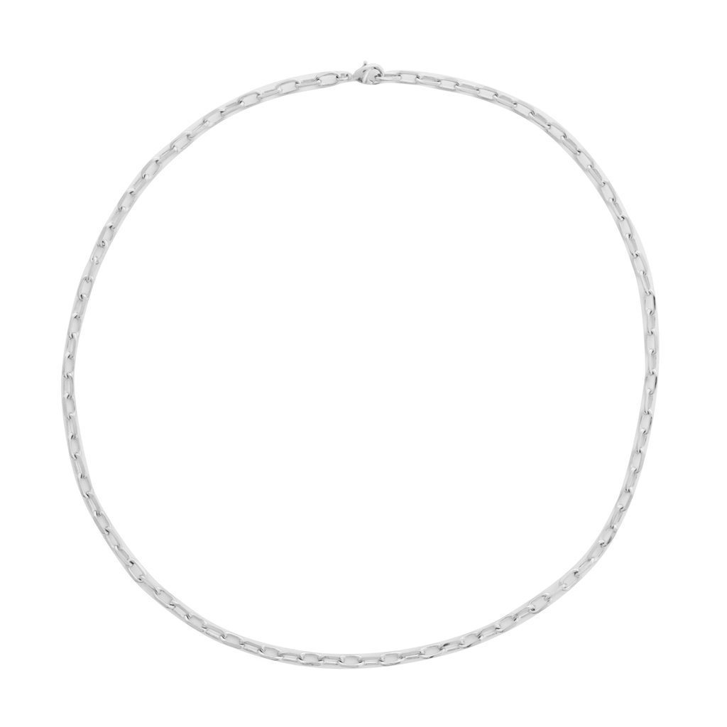Greta Chain Necklace Necklaces HONEYCAT Jewelry Silver