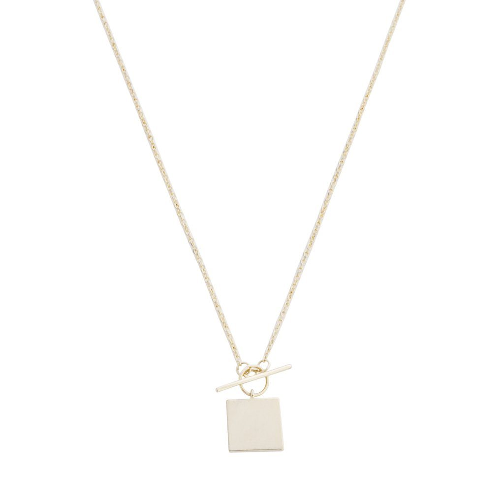 Gwyneth Toggle Necklace Necklaces HONEYCAT Jewelry Gold