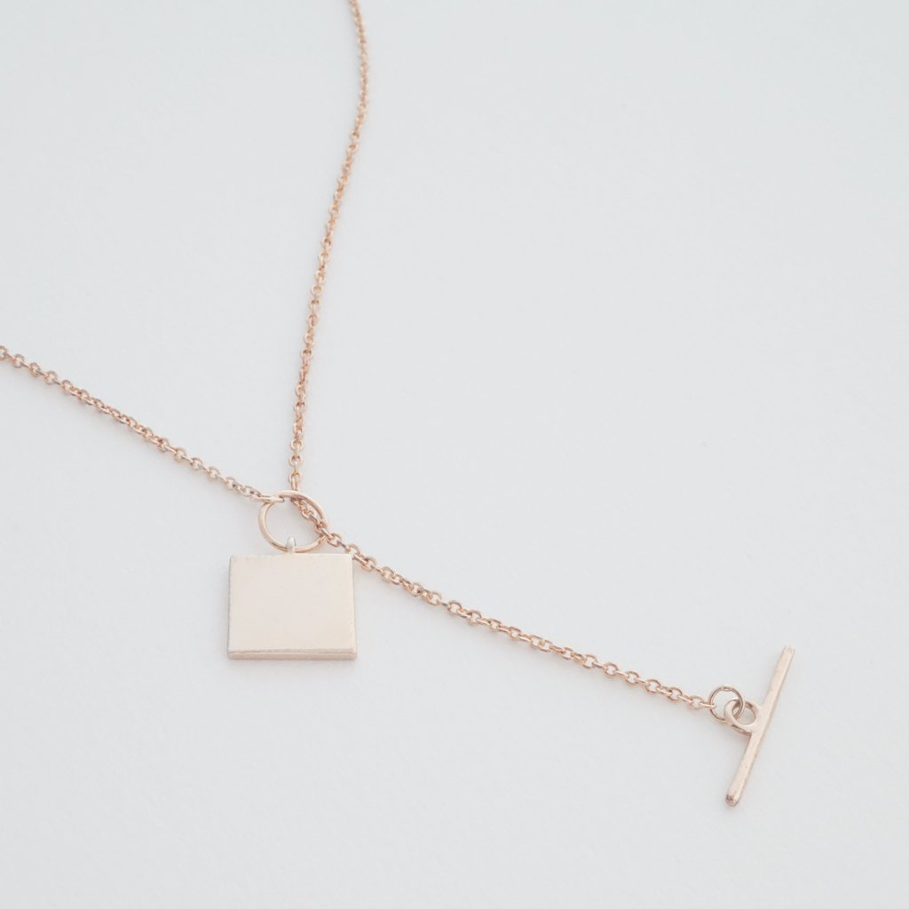 Gwyneth Toggle Necklace Necklaces HONEYCAT Jewelry