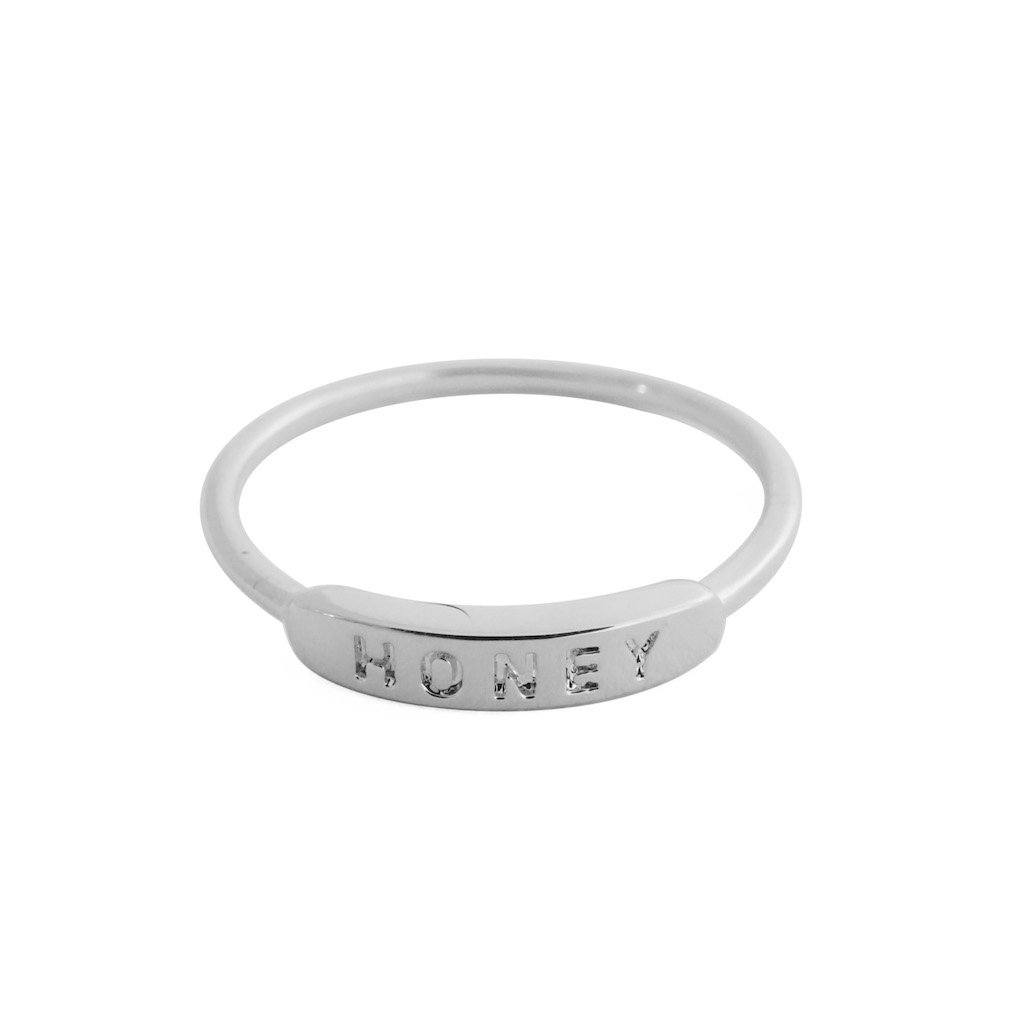 HONEY Imprint Ring Rings HONEYCAT Jewelry Silver 5