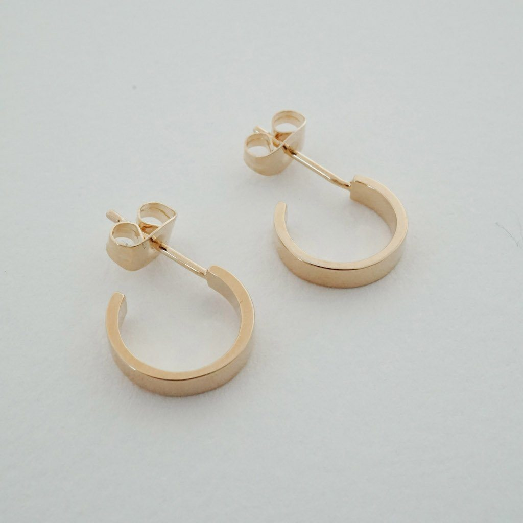 Huggie Hoops Earrings HONEYCAT Jewelry