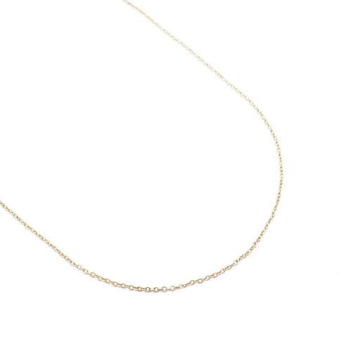Whisper Thin Adjustable Necklace, 14k Gold