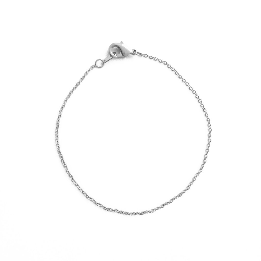 Whisper Thin Chain Bracelet Bracelets HONEYCAT Jewelry Silver 6.5""