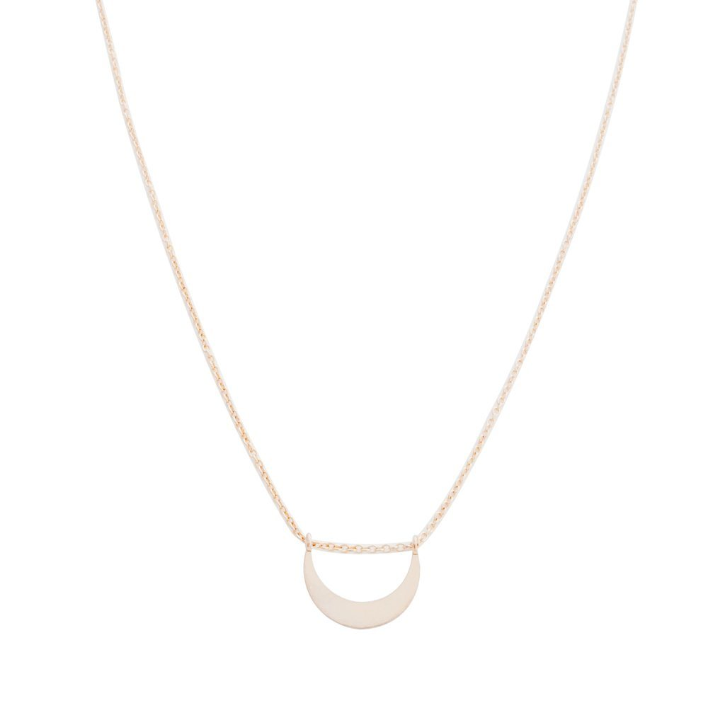 La Luna Necklace Necklaces HONEYCAT Jewelry Rose Gold