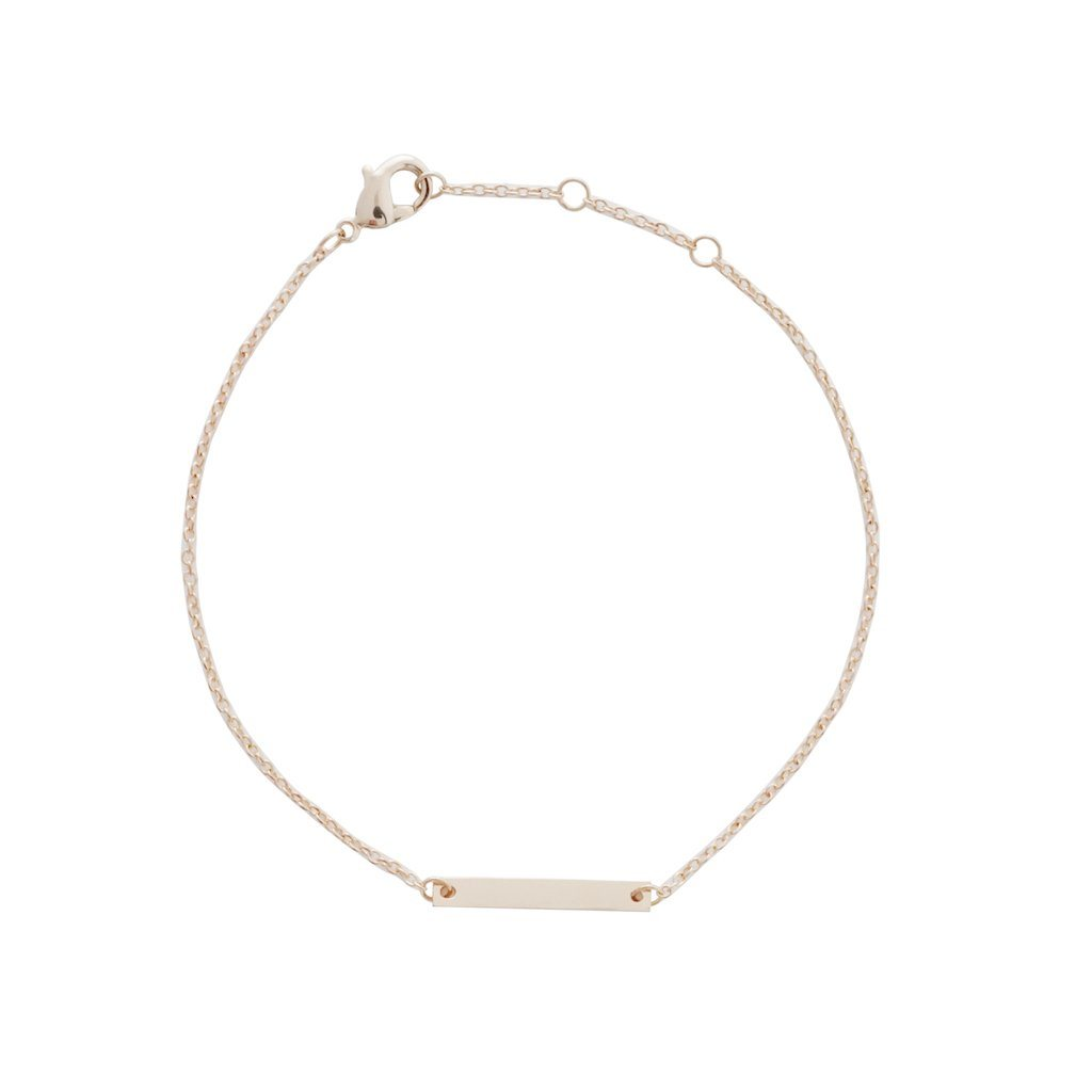 Mini Bar Bracelet Bracelets HONEYCAT Jewelry Rose Gold