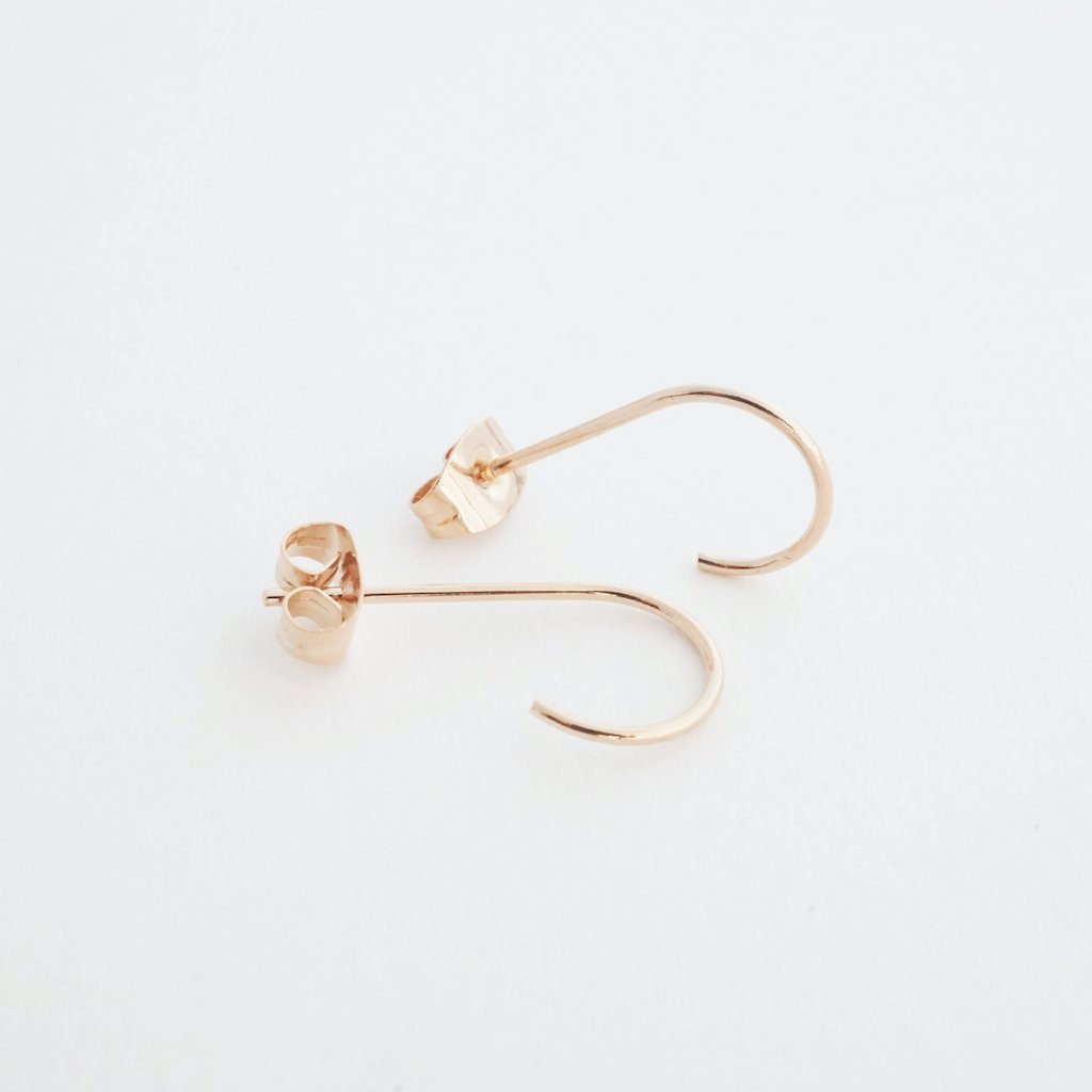 Mini Everyday Hoops Earrings HONEYCAT Jewelry