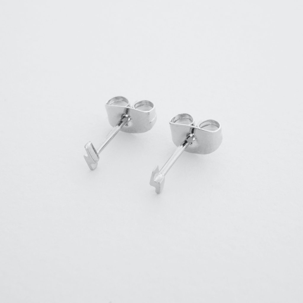 Mini Lightning Stud Earrings Earrings HONEYCAT Jewelry