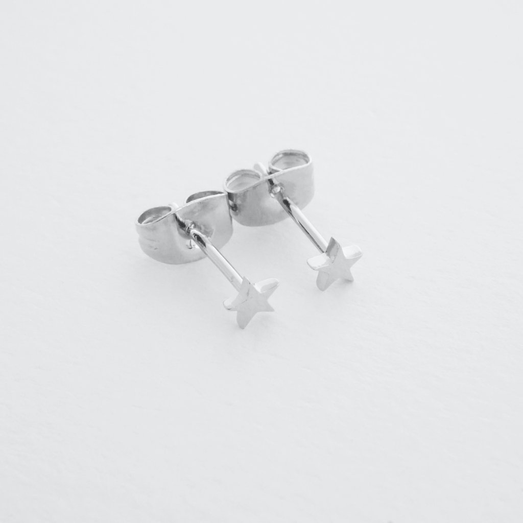 Mini Star Stud Earrings Earrings HONEYCAT Jewelry