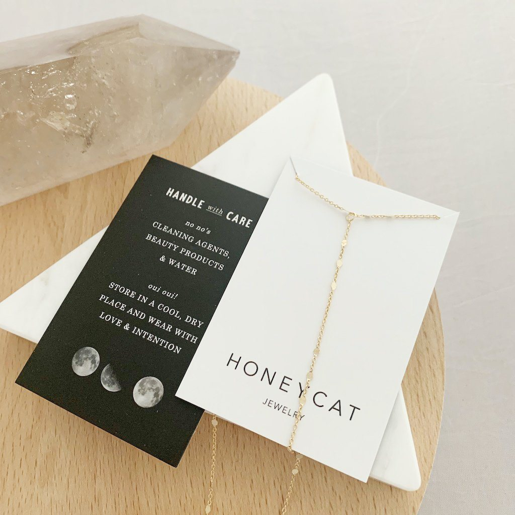 Morse Code Lariat Necklaces HONEYCAT Jewelry