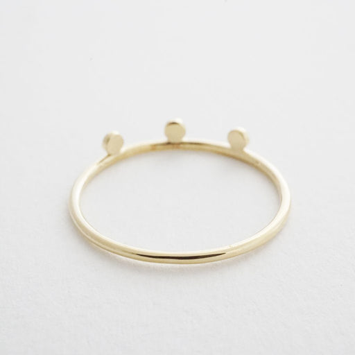 Morse Code Ring Rings HONEYCAT Jewelry