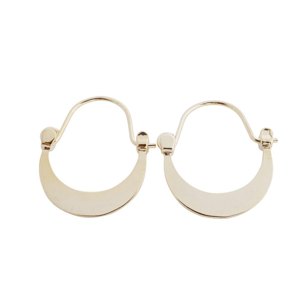Presley Moon Hoops Earrings HONEYCAT Jewelry Gold