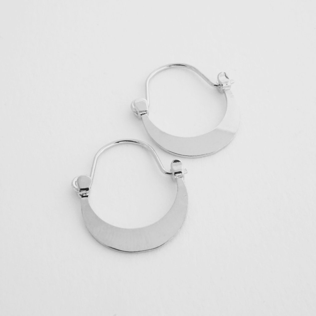 Presley Moon Hoops Earrings HONEYCAT Jewelry