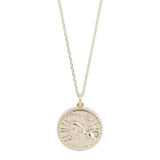 Chinese Zodiac Coin Necklace - Rat