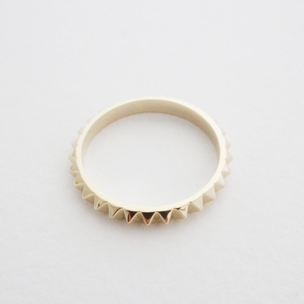 Spiked Ring Rings HONEYCAT Jewelry