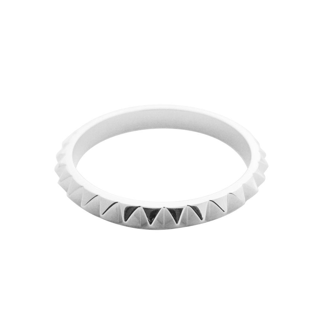 Spiked Ring Rings HONEYCAT Jewelry Silver 5