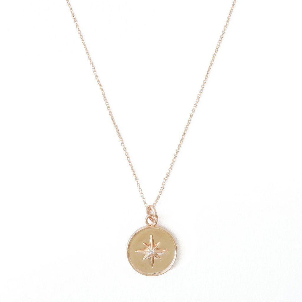 Starburst Necklace Necklaces HONEYCAT Jewelry Rose Gold