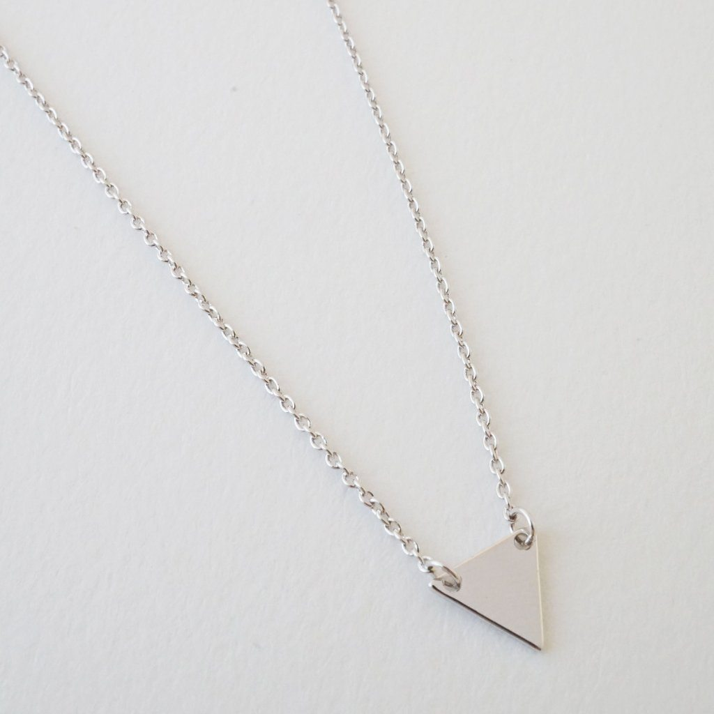 Triangle Pendant Necklace Necklaces HONEYCAT Jewelry