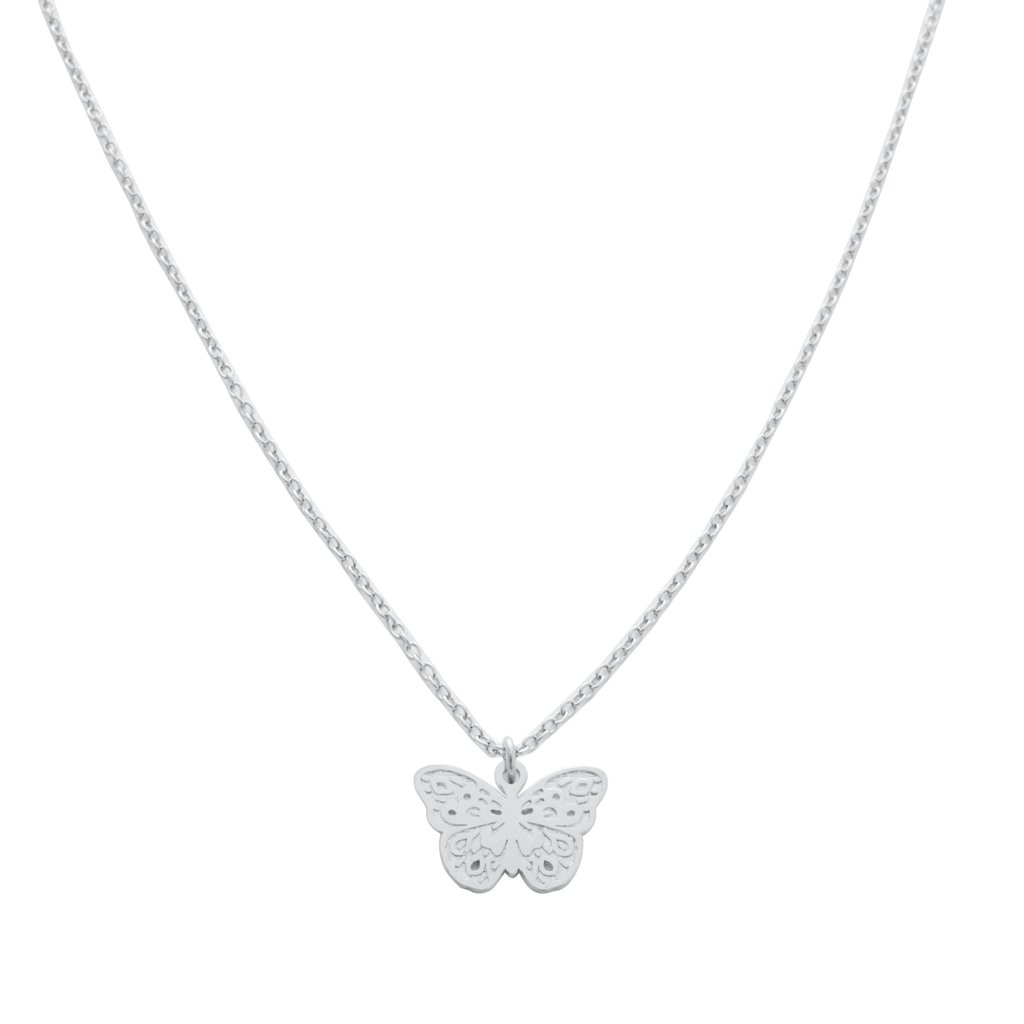 Magic Charm Butterfly Necklace Necklaces HONEYCAT Jewelry Silver