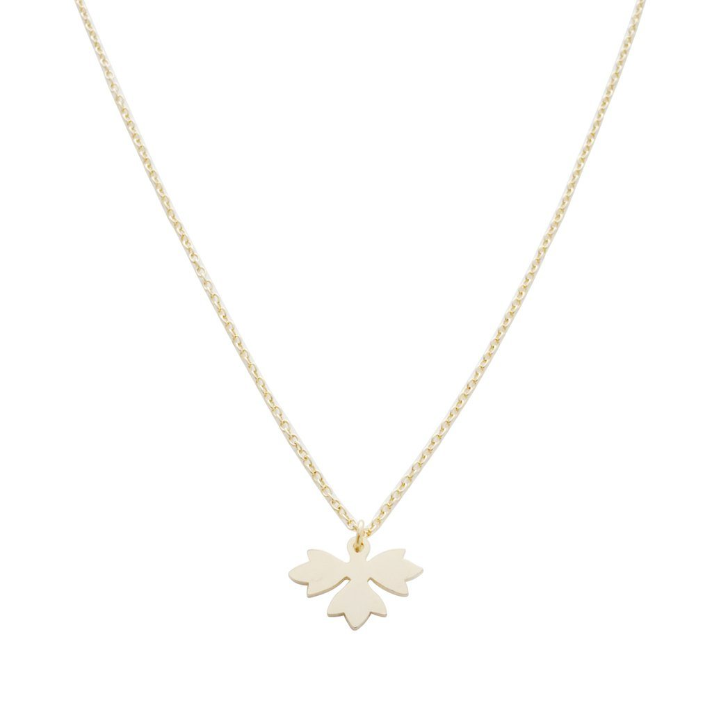 Magic Charm Sprout Necklace Necklaces HONEYCAT Jewelry Gold