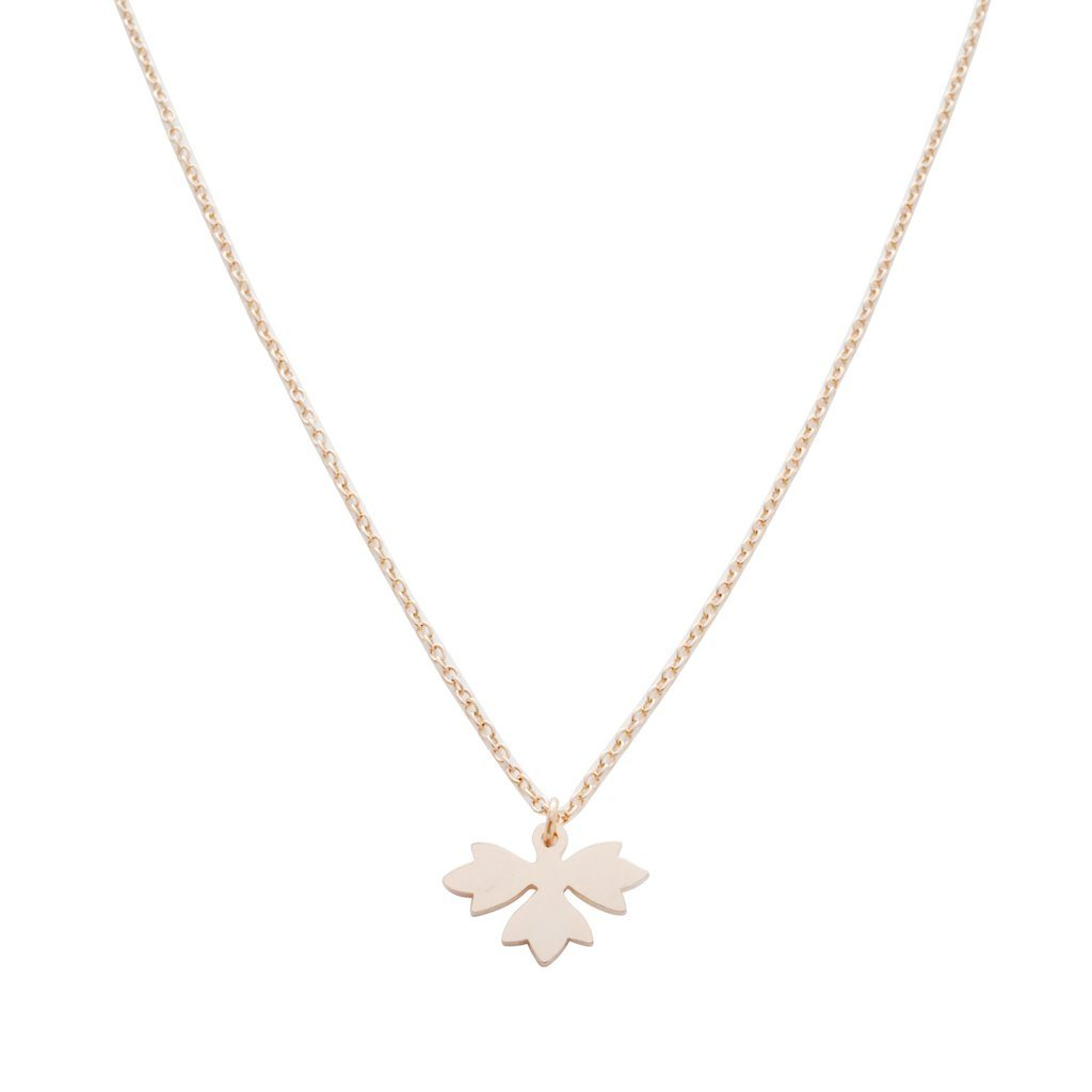 Magic Charm Sprout Necklace Necklaces HONEYCAT Jewelry Rose Gold