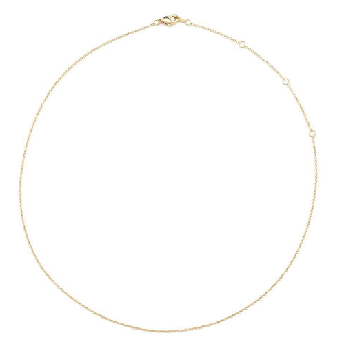 Adjustable Simple Chain Choker-Necklace Necklaces HONEYCAT Jewelry Gold
