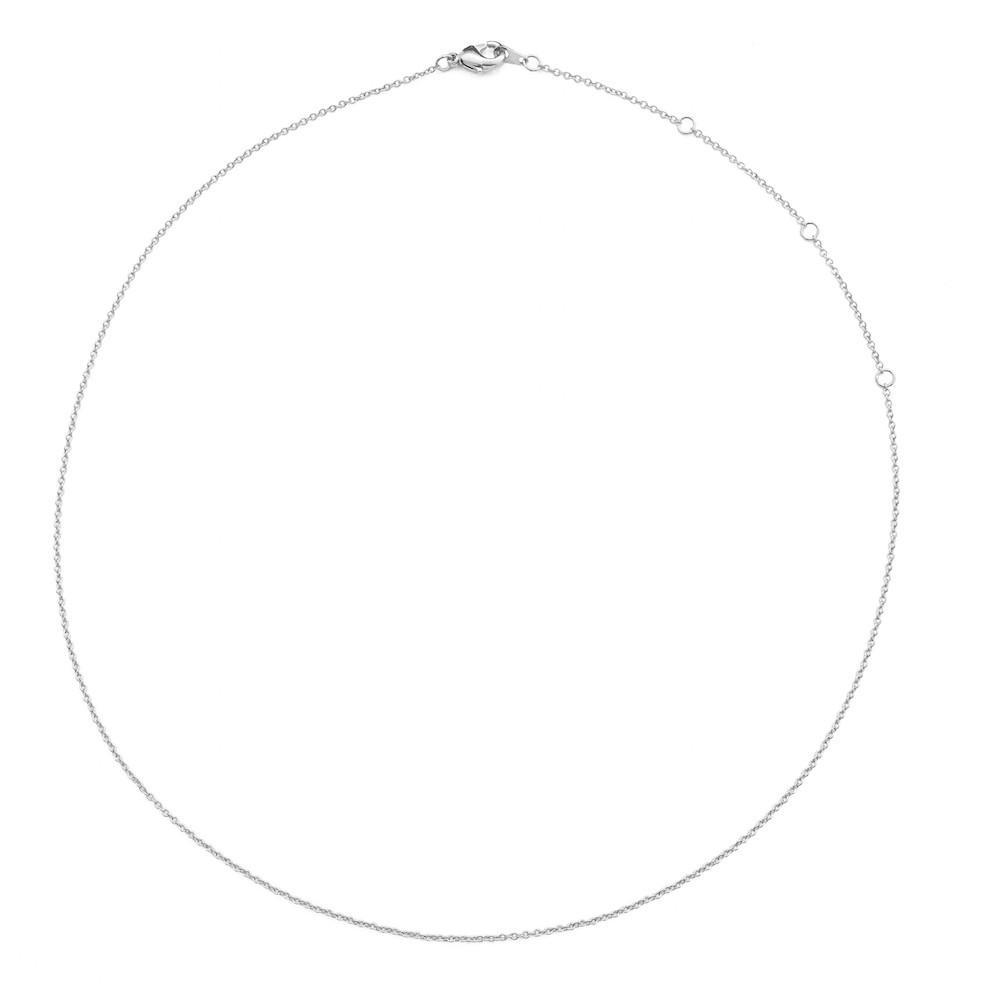 "Adjustable Simple Chain Choker (13""-17"")"