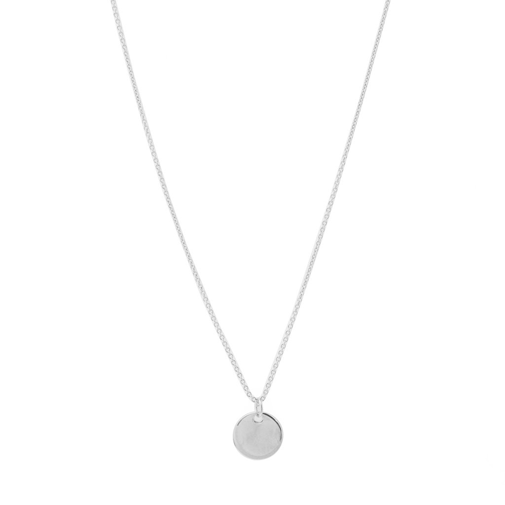 Hanging Sun Disc Necklace