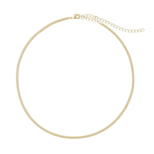 a5def5ef960ab Double Ball Chain Choker-Necklace