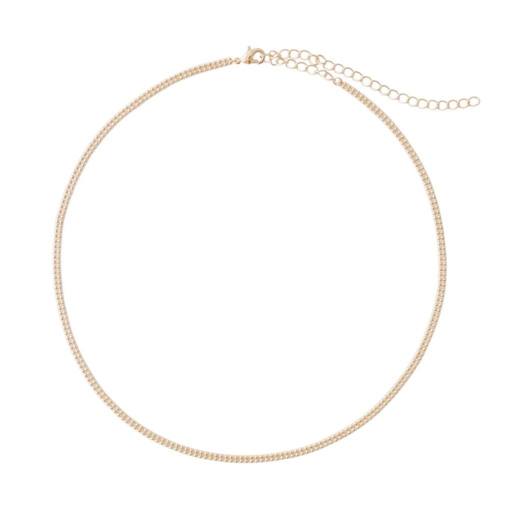Double Ball Chain Choker-Necklace Necklaces HONEYCAT Jewelry