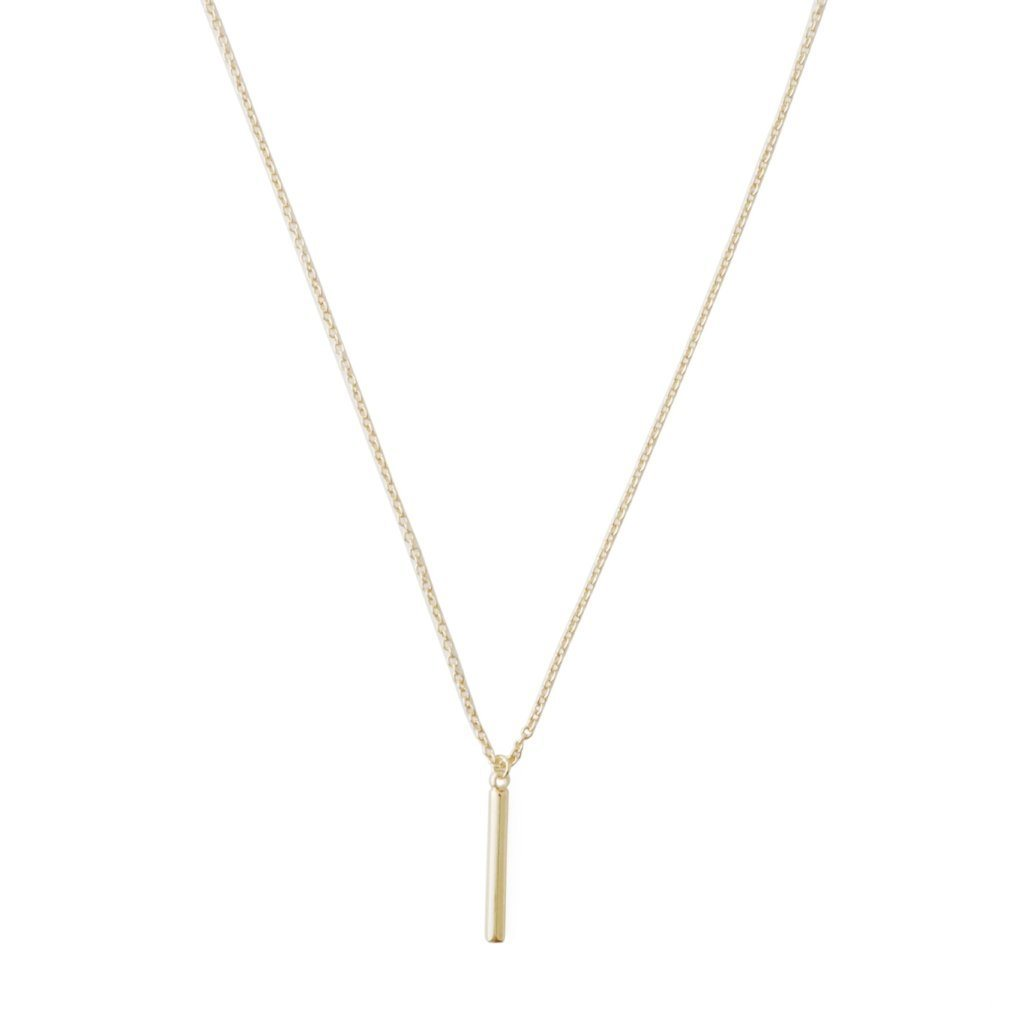 Pipette Bar Necklace Necklaces HONEYCAT Jewelry