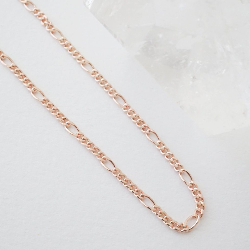 Figaro Chain Choker-Necklace