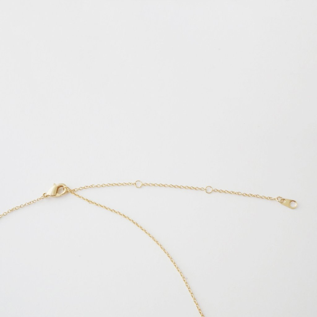 Hammered Classic Bar Necklace