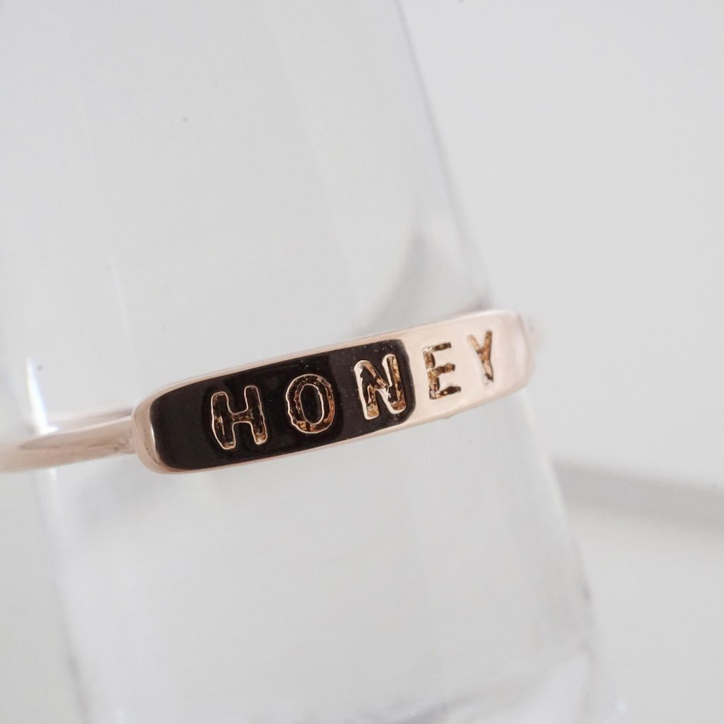 HONEY Imprint Ring