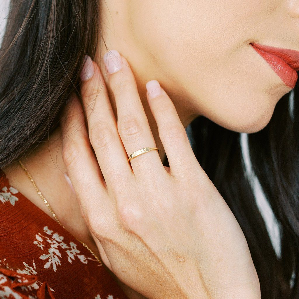 HONEY Imprint Ring Rings HONEYCAT Jewelry