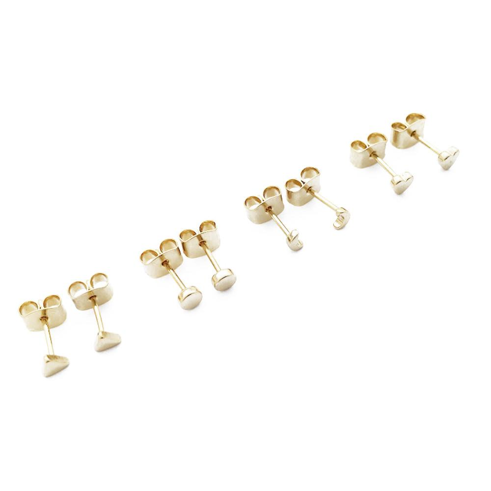 Mini Stud Earrings Quartet