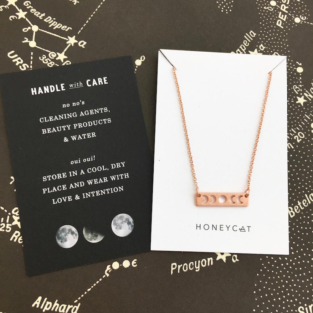 Mini Moons Phase Necklace
