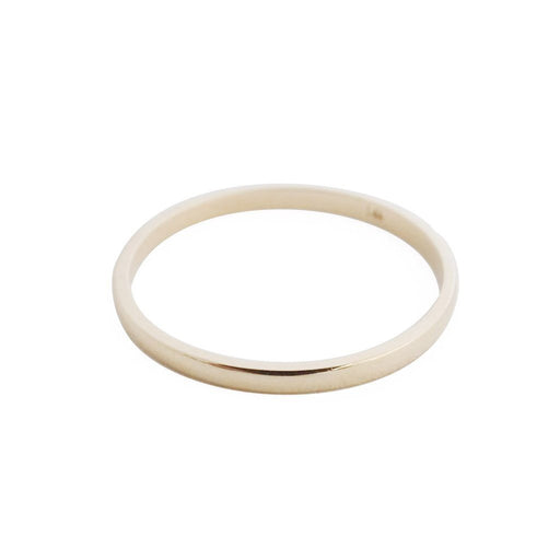 Classic Stacking Ring, 14k Gold