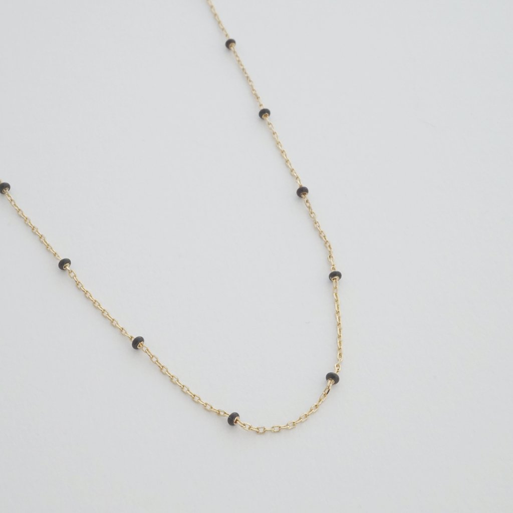 Mary Beaded Chain Necklace Necklaces HONEYCAT Jewelry