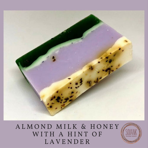 Almond Milk & Honey with a hint of Lavender - SOUANK